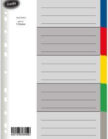 Bantex A5 5 Division P.P File Dividers