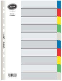 Bantex A4 10 Division P.P File Dividers
