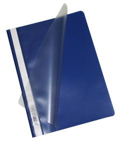 Bantex Economy A4 Folders - Blue (Pack of 10)