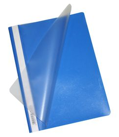Bantex Economy A4 Folders - Cobalt Blue (Pack of 10)