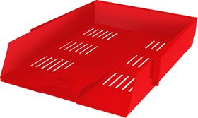 Bantex Letter Tray - Red