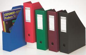 Bantex Magazine Filing Box (PVC) - Red