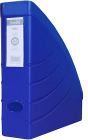 Bantex Optima Magazine A4 70mm Filing Box - Blue