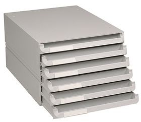 Bantex Texo Modular Storage System - 6 Drawer