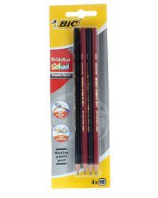 BIC Evolution School HB Pencils (Blister of 4)