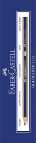Faber-Castell Goldfaber 1221 Pencils - F (Box of 12)