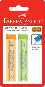 Faber-Castell Polymer Lead - 0.7mm HB (2 Pack)
