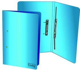 Croxley Accessible File Foolscap A4 - Bright Blue (Pack of 4)