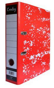 Croxley JD1009 Lever Arch File A4 70mm - Red