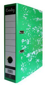 Croxley JD1009 Lever Arch File A4 70mm - Green