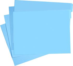 Croxley M200F Tokai Cut Flush Manilla Folders (348x228) 200gsm - Blue (100 Pack)