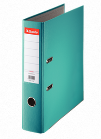 Esselte Lever Arch Polypropylene A4 75mm File - Turquoise