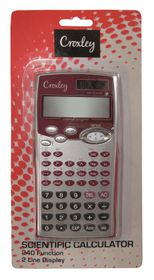 Croxley Scientific Calculator - 2 Line (240 Functions)