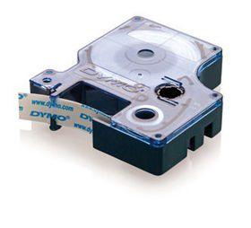 Dymo D1 Tape Cassette - Black Print on Blue Tape (12mm x 7m)