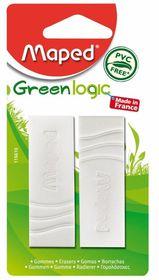 Maped Greenlogic PVC-Free Eraser (Blister of 2)