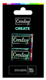 Croxley Create Small Erasers - Blister of 2