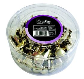 Croxley Paper Fasteners 13mm (Pack of 100)