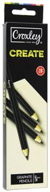Croxley Create Graphite Pencils - 2B (Box of 12)