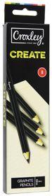 Croxley Create Graphite Pencils - B (Box of 12)