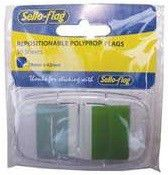 Sello-Flag Repositionable PP Flags - Green (50 Sheets)