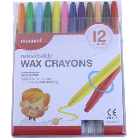 Mon Ami 12 Retractable Crayons Buy Online In South Africa