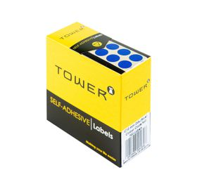 Tower C10 Colour Code Labels - Blue