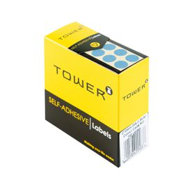 Tower C10 Colour Code Labels - Light Blue