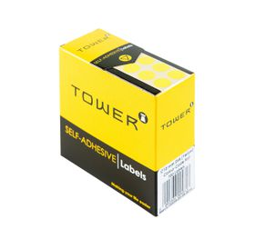 Tower C10 Colour Code Labels - Yellow