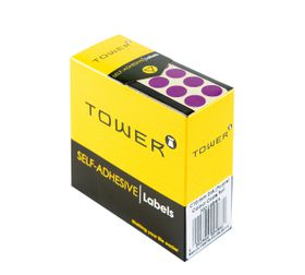 Tower C10 Colour Code Labels - Purple