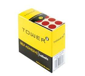 Tower C13 Colour Code Labels - Red