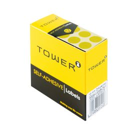 Tower C13 Colour Code Labels - Yellow