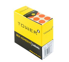 Tower C13 Colour Code Labels - Orange