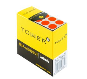 Tower C13 Colour Code Labels - Fluorescent Red