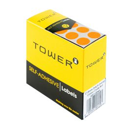 Tower C13 Colour Code Labels - Fluorescent Orange