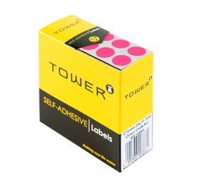 Tower C13 Colour Code Labels - Fluorescent Pink