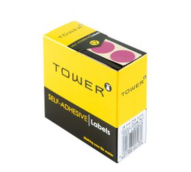 Tower C19 Colour Code Labels - Pink