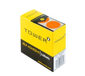 Tower C25 Colour Code Labels - Orange