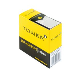 Tower C25 Colour Code Labels - Silver