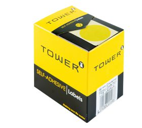 Tower C32 Colour Code Labels - Yellow