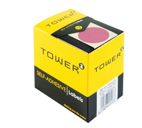 Tower C32 Colour Code Labels - Pink