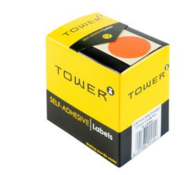 Tower C32 Colour Code Labels - Orange