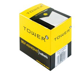Tower C32 Colour Code Labels - Silver