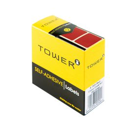 Tower R1925 Colour Code Labels - Red