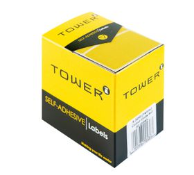 Tower R3250 Colour Code Labels - Yellow
