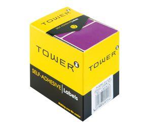 Tower R3250 Colour Code Labels - Purple