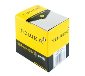 Tower R3250 Colour Code Labels - Silver