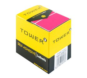 Tower R3250 Colour Code Labels - Fluorescent Pink