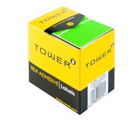 Tower R3250 Colour Code Labels - Fluorescent Green
