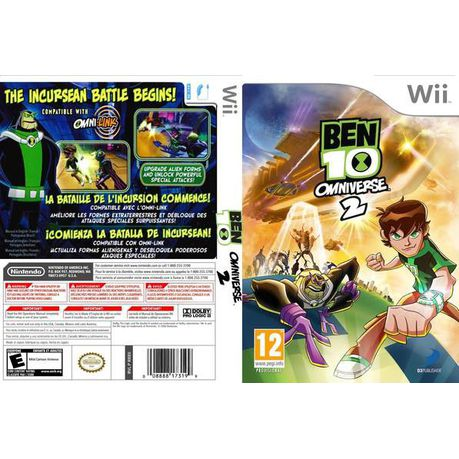 Try These Ben 10 Wii All Games {Mahindra Racing}
