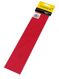 Tower Lever Arch Labels - Red (Pack of 12)